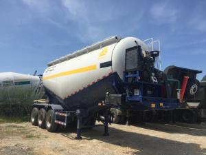 Xe bồn chở xi măng rời, xi măng xá, tro bay 30-31m3 - 2017