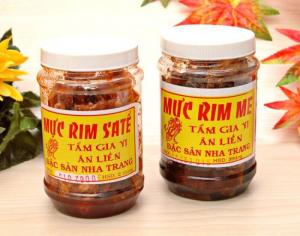 Mực rim me - sa tế Đặc sản Nha Trang
