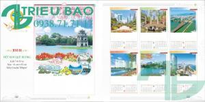 In lịch giá rẻ Gò Vấp, Bình Thạnh, TpHCM