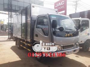 . Xe tải jac 2.4 tấn thùng dài 3m7