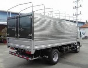 Xe tải Jac 1t49 thùng bạt từ chassis tại Bình Dương