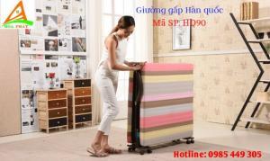 Giường gấp kiểu Hàn Quốc rộng 90cm Hòa Phát hiện đại