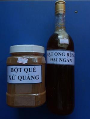 bán các loại mật ong rừng và bột quế, chất lượng, giá tốt
