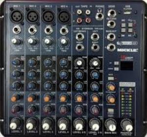 Mixer bàn Yamaha SRM8 USB echo vang hiệu ứng effect 16 DSP