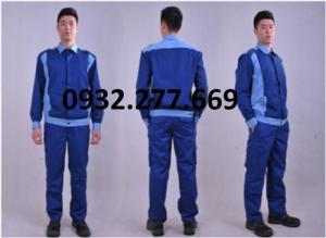Quần áo bảo hộ lao động TB04 có màu sắc xanh dương