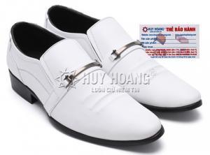 Giày nam Huy Hoàng màu trắng MH7135