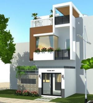 Bán nhà và đất 202m2, MT6m nở hậu, phố An Dương