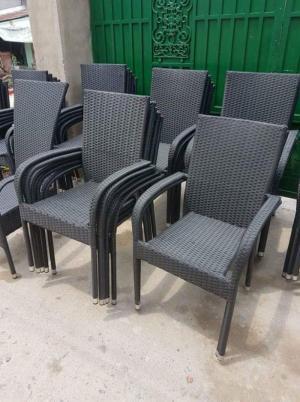 Bán bàn ghế sofa nhựa giả mây,miễn phí vận chuyển