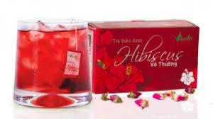 trà hibiscus- Giảm cholesterol, đẹp da, chống lão, thanh nhiệt