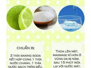 Baking Soda mix bạc hà  NT