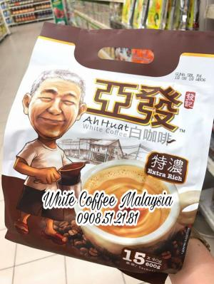 cà phê trắng Malaysia - Ahhuat