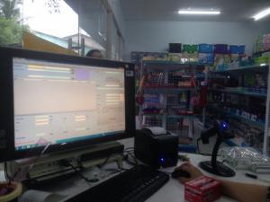 Combo máy tính bàn và phần mềm quản lý, order quán ăn, nhà hàng, nhỏ gọn lắp đặt tân nơi