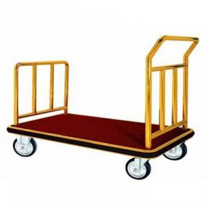 XE ĐẨY HÀNH LÝ CHỮ U + Mã: TS-XDHL-008 + Kích thước: (L)1050x(W)610x(H)900mm + Ống: (Ø)38 mm + Dày  0.8 mm + Bánhh xe 6 inch + Nặng: 250 kg + Chất liệu: inox