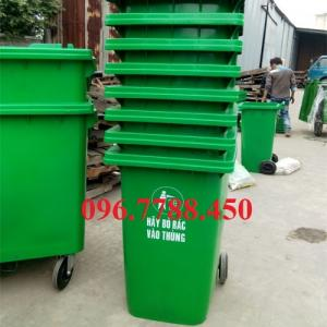 Bán thùng đựng rác 240 lít giá rẻ giao toàn quốc