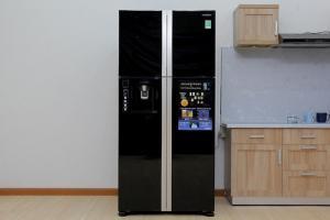 Tủ lạnh Hitachi R-W660PGV3 540 lít 4 cửa mặt gương giá rẻ