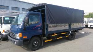 Bán Xe Tải Hyundai HD99 6,5 tấn thùng mui bạt