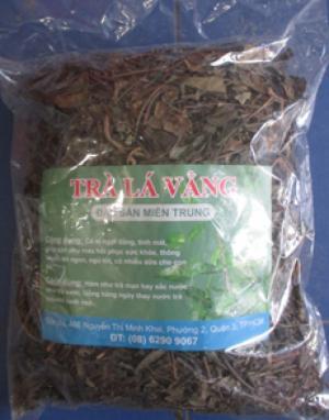 bán trà lá vằng-giúp thông huyết, tiêu viêm, bà mẹ nhiều sữa, sức khỏe tốt