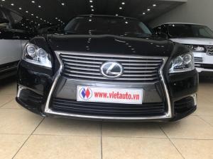 Cần bán gấp Lexus LS 460L sx 2015 màu đen biển đẹp HN