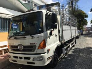 Xe tải Hino FC mui bạt bửng nhôm giá tốt