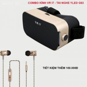 Combo kính thực tế ảo VR i7
