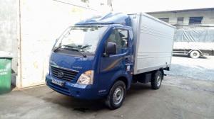 Bán xe tải TATA 1.25 tấn máy dầu DIESEL thùng bạt - kín NHẬP CKD 3 cục