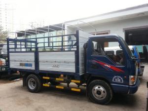 Xe tải jac 2400kg thùng mui bạt đời 2017 mới 100%