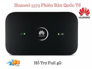Bộ phát wifi 3G/4G Huawei E5573 tốc độ cao 150Mbps – kết nối lên tới 10 thiết bị - MSN181178