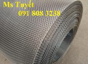 Chuyên lưới Inox 201, 304, 316 lỗ tròn, hoa thị, quả trám giá tốt nhất tại Hà Nội
