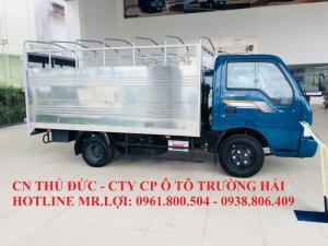 Giá bán xe tải Thaco Kia K165 2,4 tấn 2017, trả góp