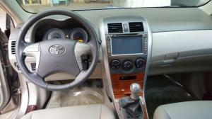 Bán Toyota Altis 1.8MT số sàn màu vàng cát sản xuất 2009 gốc Sài Gòn