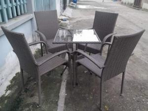 bán ghế nhựa mây thanh lí xuất khẩu giá rẻ đẹp