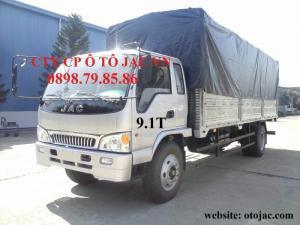 JAC 9T1- tải 32,7 khối hàng- xe khỏe- bảo hành 3 năm