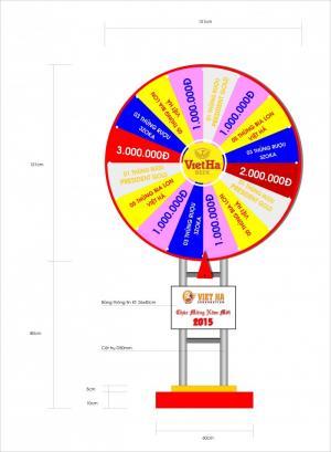 Thiết kế vòng quay trúng thưởng theo nhu cầu khách hàng tại quận 7