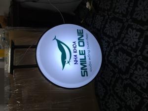 Thiết kế biển hộp đèn led tại quận 5