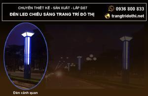 Đèn cảnh quan trang trí đô thị Tết 2018