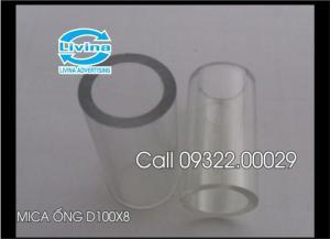 Bán nhiều mẫu mica ống theo yêu cầu
