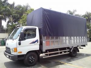 Xe Ô tô tải Hyundai HD72 thùng dài 4m9