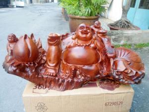 Tượng Phật Di Lặc gỗ hương - PTP14