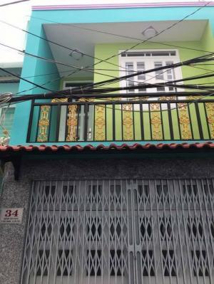 Bán nhà 34 Kênh Tân Hóa quận Tân Phú sát bên Công Viên Đầm Sen