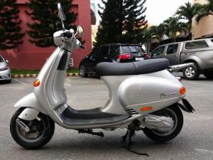 Piaggio Vespa ET8 125 Xám Bạc Xe Tay Ga Ý Huyền Thoại Tuyệt Đẹp