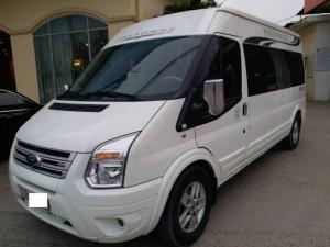 Ford Transit DCar President VIP 10 Chỗ mầu trắng sản xuất 2014, đăng ký 2015