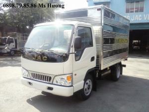 JAC 1250kg thùng tiêu chuẩn, chuyên chở 10.6 khối hàng