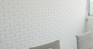 Xốp dán tường giả gạch 3D loại 1