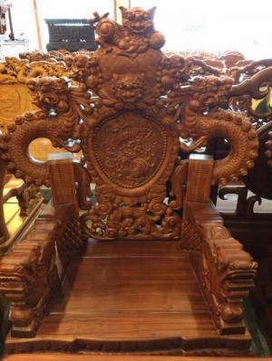 Bộ bàn ghế Rồng Bảo Đỉnh 6 món đẳng cấp-BBG466