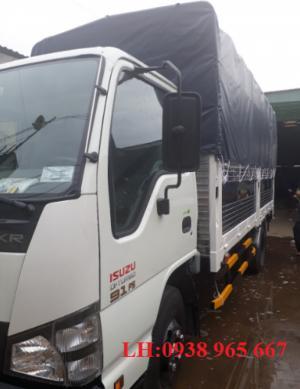 Xe tải Isuzu 1 tấn 9 thùng mui bạt