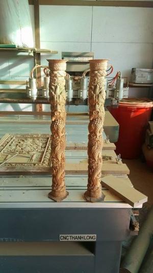 Máy CNC chuyên đục tượng 6 đầu 6 trục