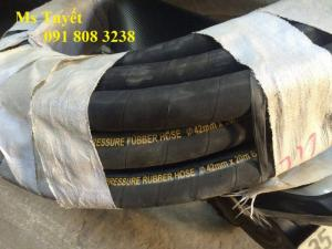 Ống cao su bố vải dẫn nước, chịu áp lực cao, ống cao su phi 100, 200,...