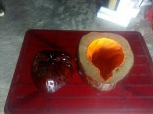 Vỏ bình trà bằng trái dừa