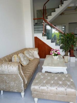 Bán nhà riêng,Thị Trấn Nhà Bè, DT 150m2, 2 lầu sân thượng tặng toàn bộ nội thất