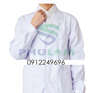 Áo blouse bác sĩ bệnh viện